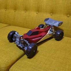 3D printing model Mk Ultra - 3D printable 1/10 4wd buggy, tahustvedt