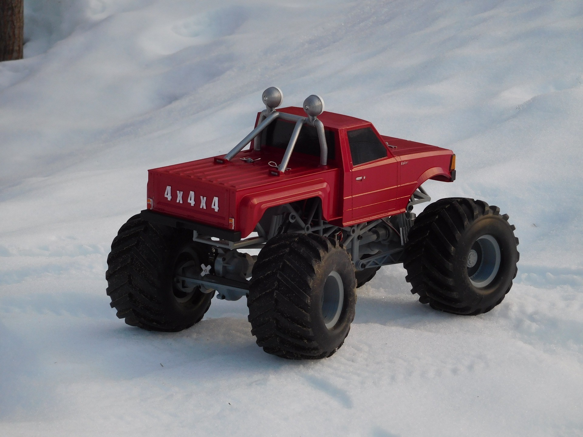DSCN1203.JPG Download free STL file Fully printable Monster Truck • 3D printer design, tahustvedt