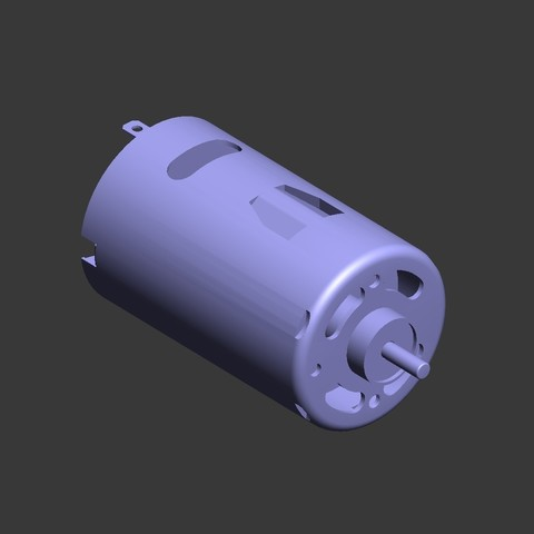 Download free 3D printer files 540 and 550 motors., tahustvedt