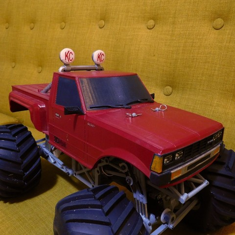 DSCN1430.JPG Download free STL file Fully printable Monster Truck • 3D printer design, tahustvedt