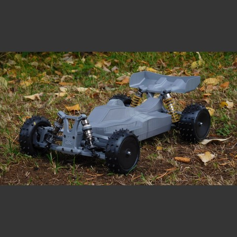MKultra09.jpg Download free STL file Mk Ultra - 3D printable 1/10 4wd buggy • Object to 3D print, tahustvedt