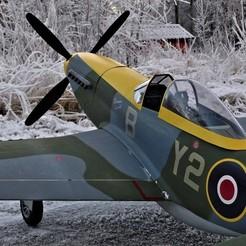 ESM P-51D Accessories 3D model, tahustvedt