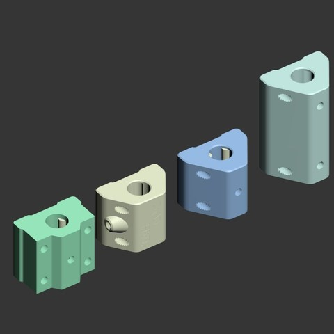 PTFEbearing01.jpg Download free STL file Printable PTFE linear bearings for 8mm rods and 4mm ptfe tubing. • Template to 3D print, tahustvedt