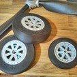 CAM01553.jpg Download free STL file Wheel set for ESM F7F Tigercat. • Design to 3D print, tahustvedt