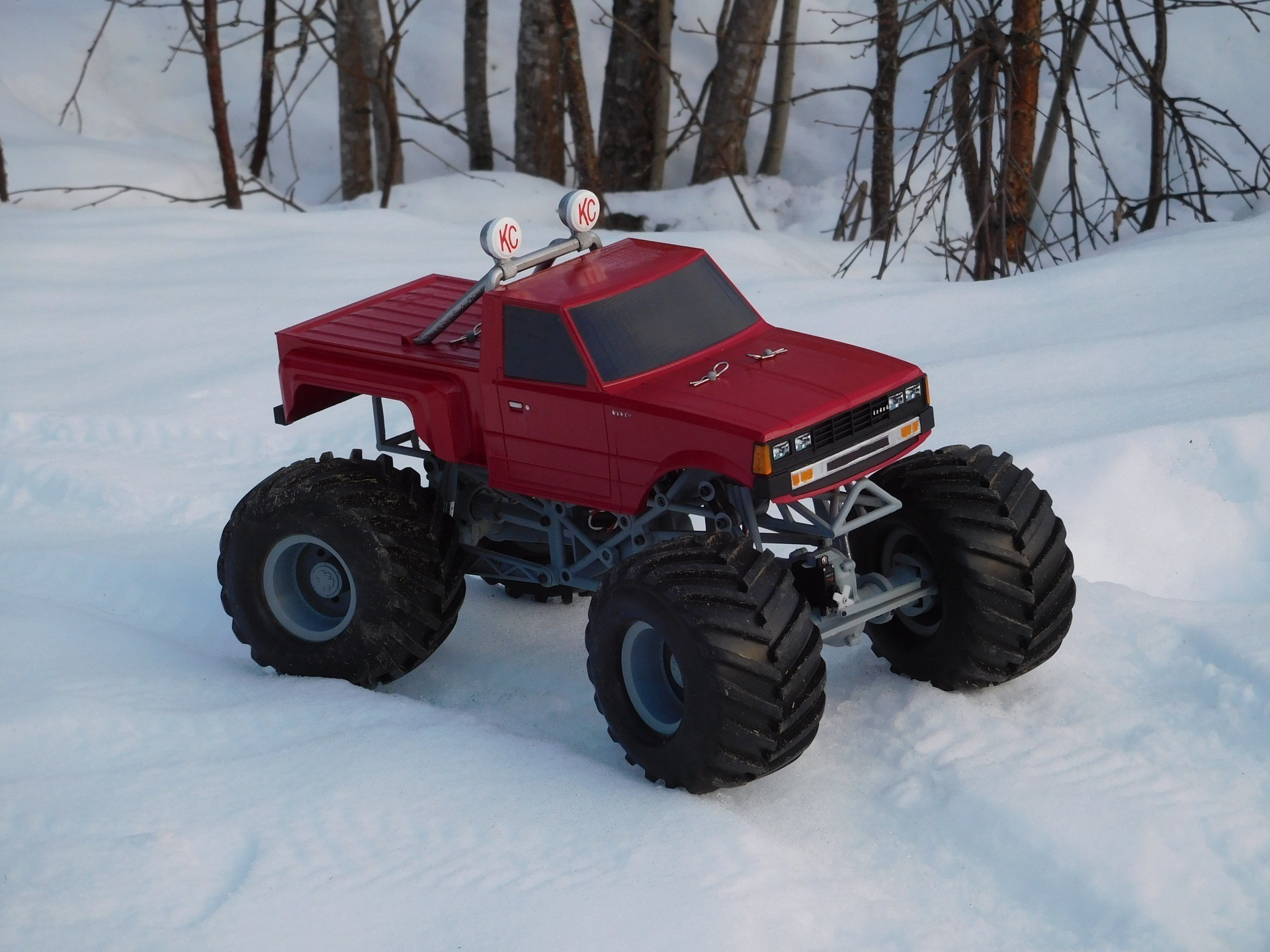 DSCN1201.JPG Download free STL file Fully printable Monster Truck • 3D printer design, tahustvedt
