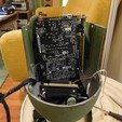 """Download free 3D printing templates Nuclear bomb PC case. """"Nuke"""", tahustvedt"""