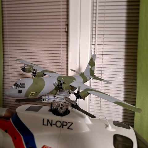 Descargar archivos 3D gratis Micro C-130 Hércules modelo RC, tahustvedt