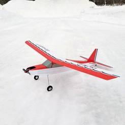 Baby02.jpg Télécharger fichier STL gratuit Pilot Baby - Reproduction 3D imprimable d'un modèle sportif RC Vintage. • Objet pour impression 3D, tahustvedt