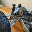 Free 3D printer designs Lynx - Fully 3D-printable 1/10 4wd buggy, tahustvedt