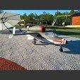 Descargar modelo 3D Heinkel Heinkel He-162 A2 A2 modelo RC jet gigante a escala 1:4,5, tahustvedt