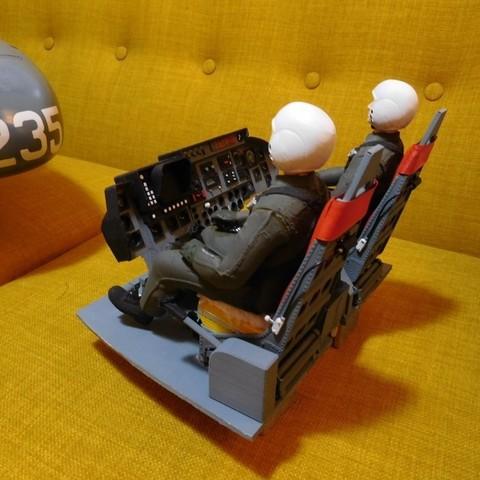 DSCN0993.JPG Download STL file Vario Lynx 1:8 scale cockpit interior. • Template to 3D print, tahustvedt