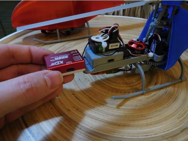 47ff2efb20751f34d97563c64e9ff2f2_preview_featured.JPG Télécharger fichier STL gratuit Étui Gyro imprimable KDS EBAR V2 Flybarless • Objet pour impression 3D, tahustvedt