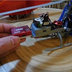 Télécharger plan imprimante 3D gatuit Étui Gyro imprimable KDS EBAR V2 Flybarless, tahustvedt