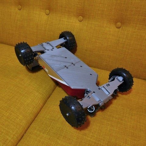 DSCN1416.JPG Download free STL file Mk Ultra - 3D printable 1/10 4wd buggy • Object to 3D print, tahustvedt