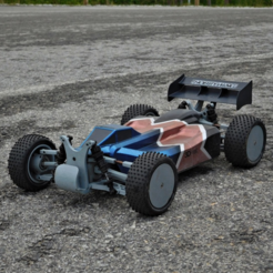 Download free STL Lynx - Fully 3D-printable 1/10 4wd buggy, tahustvedt