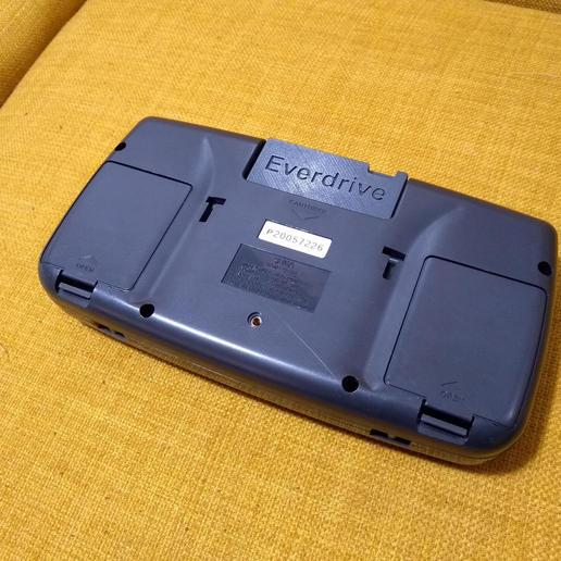 Download free 3D printing files Game Gear Everdrive Cartridge, tahustvedt