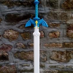 sword.jpg Download free STL file Master Sword botw flavor (without painting) • 3D printable design, lipki