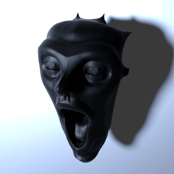 Free 3D file Scream, lipki