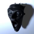 Free stl files Scream, lipki