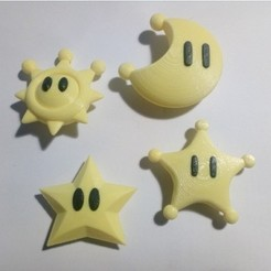 Download free 3D printer files Collectible objects of Mario 3D, lipki