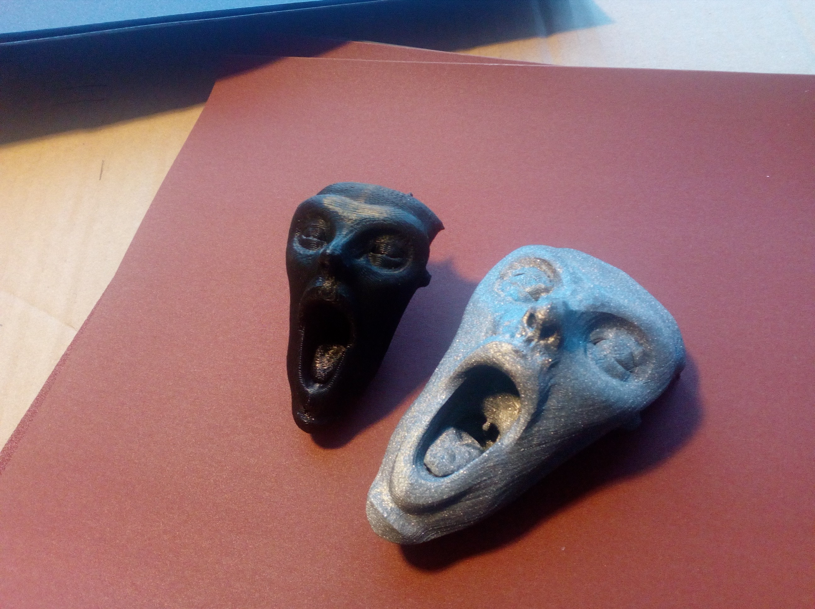 IMG_20180522_171112.jpg Download free STL file Scream • 3D printable model, lipki