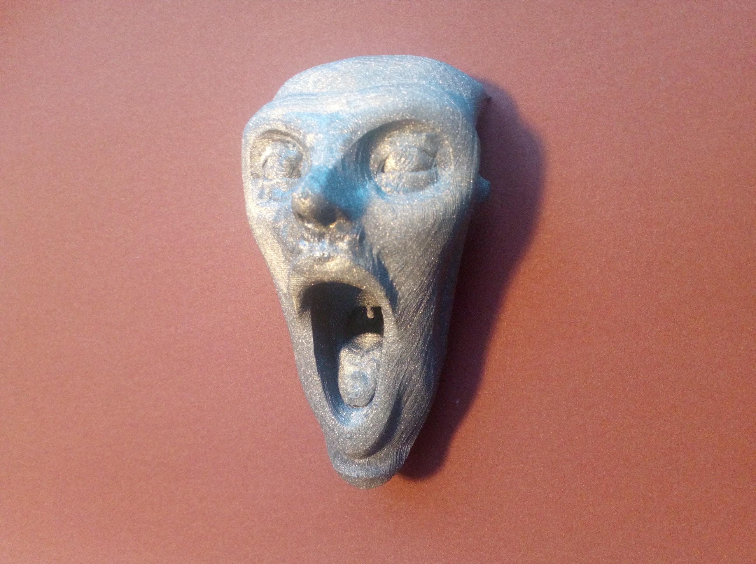IMG_20180522_171151.jpg Download free STL file Scream • 3D printable model, lipki