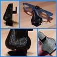 Download STL file Glasses suport • Object to 3D print, pullrich
