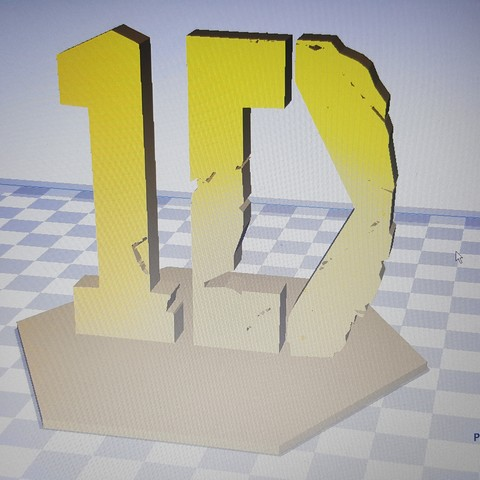 Download free STL file One Direction Logo • Model to 3D print, Yoelito
