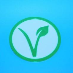 Download free 3D printer files Vegan Coaster, snagman
