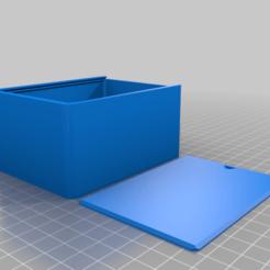 Descargar STL gratis Mi caja redonda personalizada con tapa, snagman