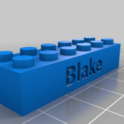 Download free 3D printing files Blake brick, snagman