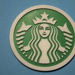 DSC_0027.JPG Télécharger fichier STL gratuit Dessous de verre Starbucks • Design pour imprimante 3D, snagman