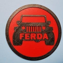 Download free 3D printer designs Letterkenny Ferda coaster and holder, snagman