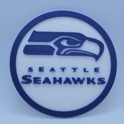 Download free 3D printing files Seahawks coaster, snagman