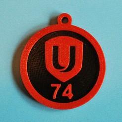 Télécharger STL gratuit Porte-clés Unifor Local 74, snagman