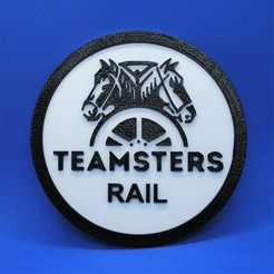 Download free STL file Teamster Coaster • 3D print template, snagman