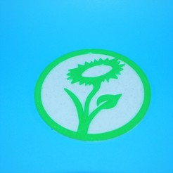 Télécharger fichier impression 3D gratuit Dessous de verre végétalien 2, snagman