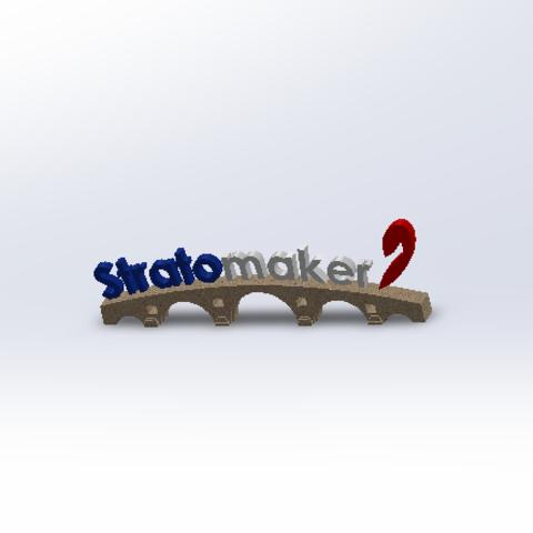 Free 3D model #STRATOMAKER, YAN-D