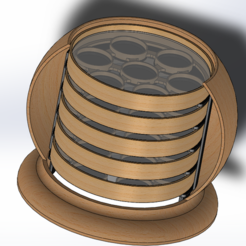 2018-01-30 (2).png Download free STL file Coaster with support • 3D printer design, YAN-D