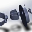 Télécharger fichier STL gratuit Support sèche cheveux et, ou support lisseur, YAN-D
