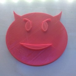 Free 3D printer designs emoji demon, FLAYE