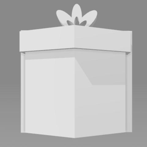 Download free 3D printing designs Gift box, FLAYE