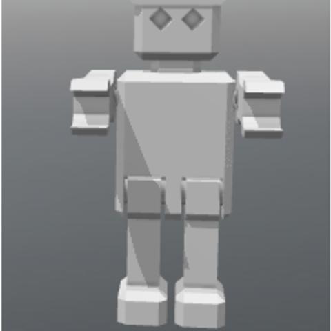 vvvvvvvvvv.PNG Download free STL file ROBOT articulated • 3D printing template, FLAYE