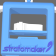 Download free STL mascot STRATOMAKER 3D print skeleton, FLAYE