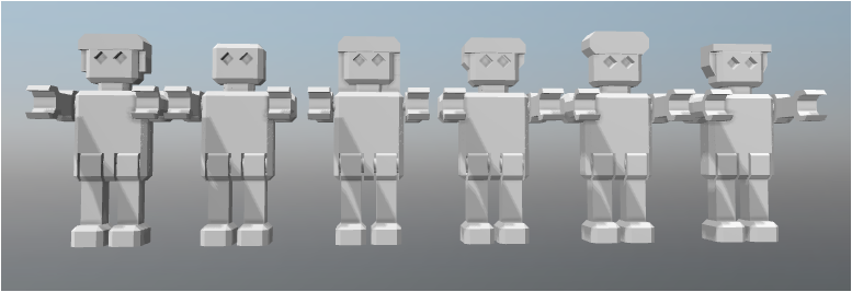 Capture.PNG Download free STL file ROBOT articulated • 3D printing template, FLAYE