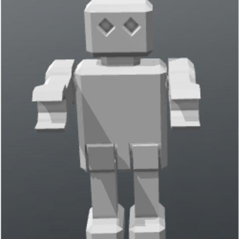 ttttttt.PNG Download free STL file ROBOT articulated • 3D printing template, FLAYE