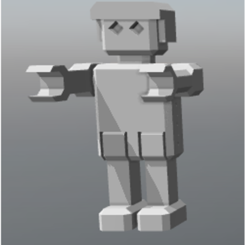 ssss.PNG Download free STL file ROBOT articulated • 3D printing template, FLAYE