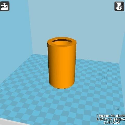 """Capture.JPG Download STL file Home Sweet Home"""" candle jar • 3D print model, chris_soleil"""
