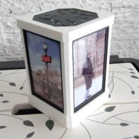 Free 3d printer files Customizable table lamp, chris_soleil