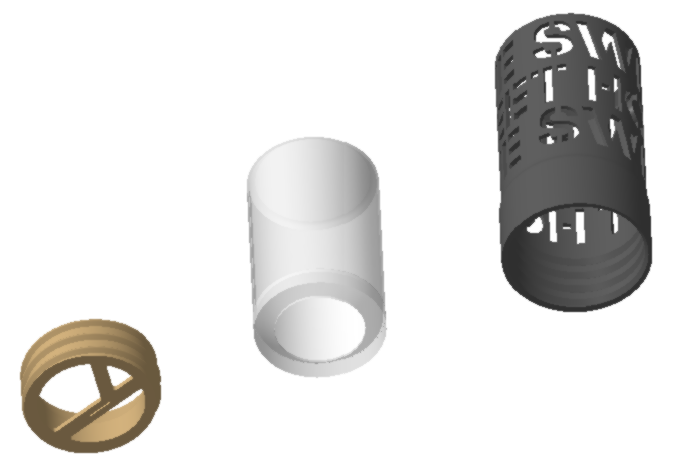 "Vue3.png Download STL file Home Sweet Home"" candle jar • 3D print model, chris_soleil"
